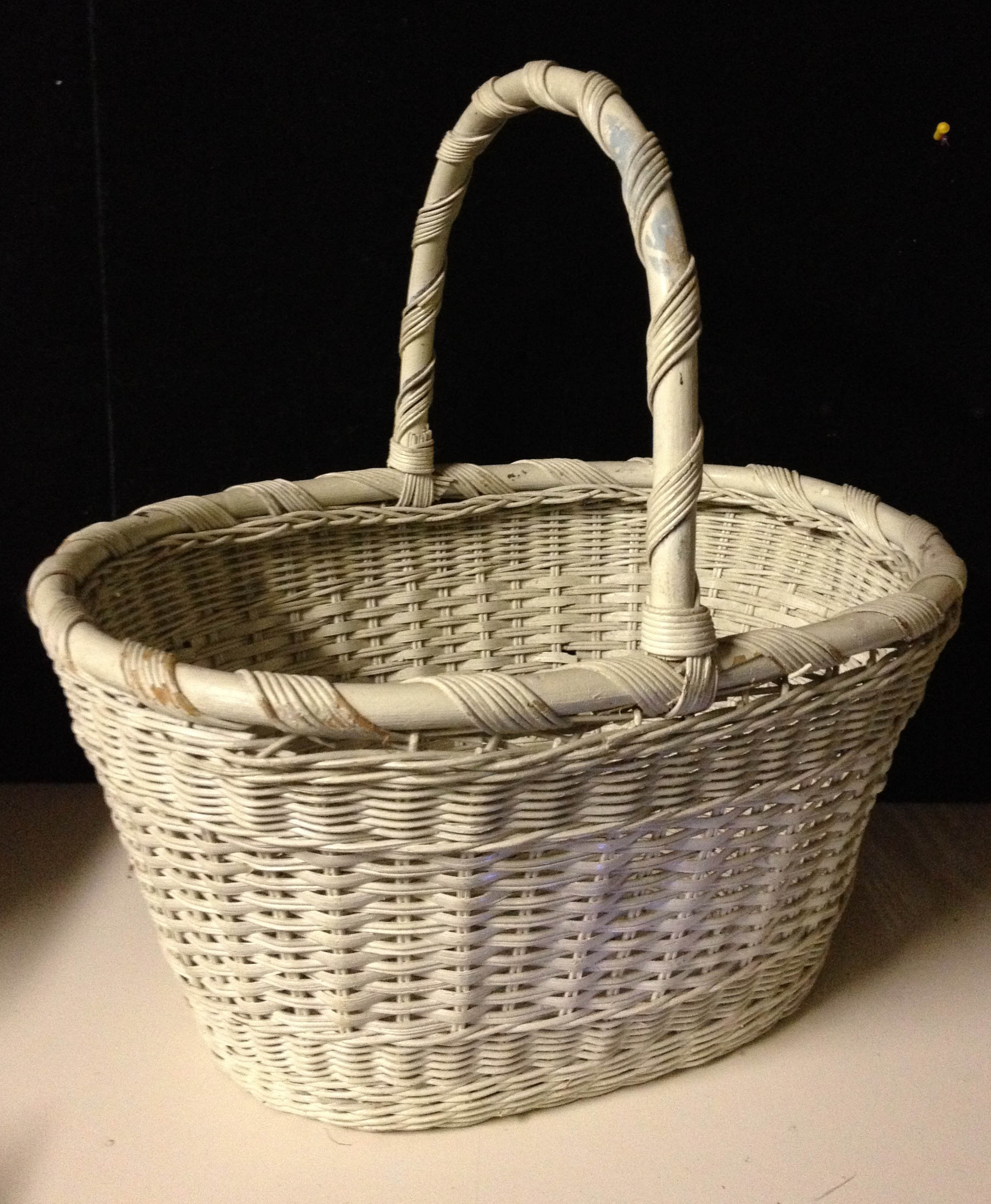 Cane Baskets Wicker Basket Amazingjunk