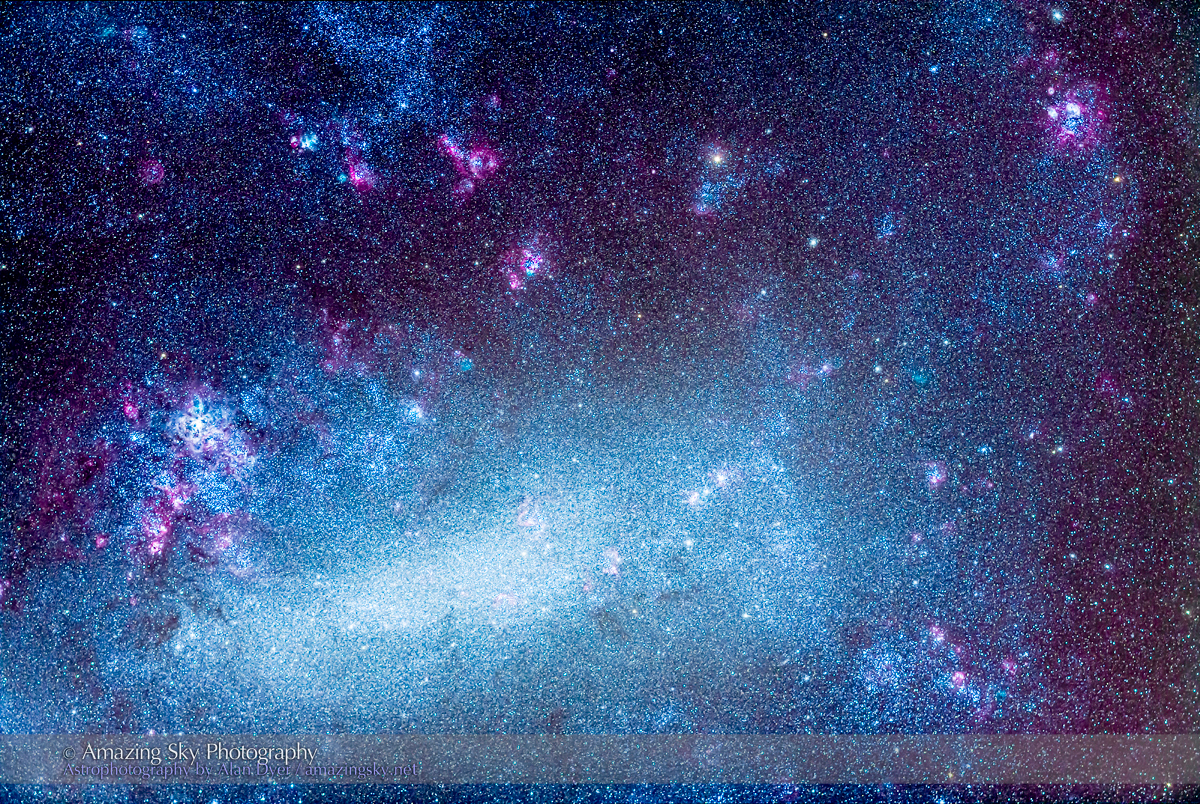 Macbook Pro Wallpaper Fall Our Neighbour Galaxy The Large Magellanic Cloud The