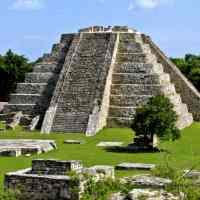 Mayapan - last big town of the ancient Maya in Yucatan