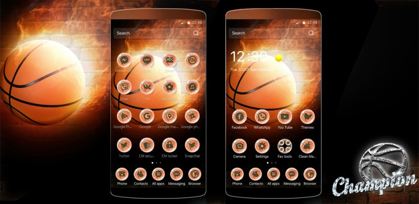 3d Wallpaper Cm Launcher Basketball Theme Nba Theme Amazing Wallpapers Amp Themes
