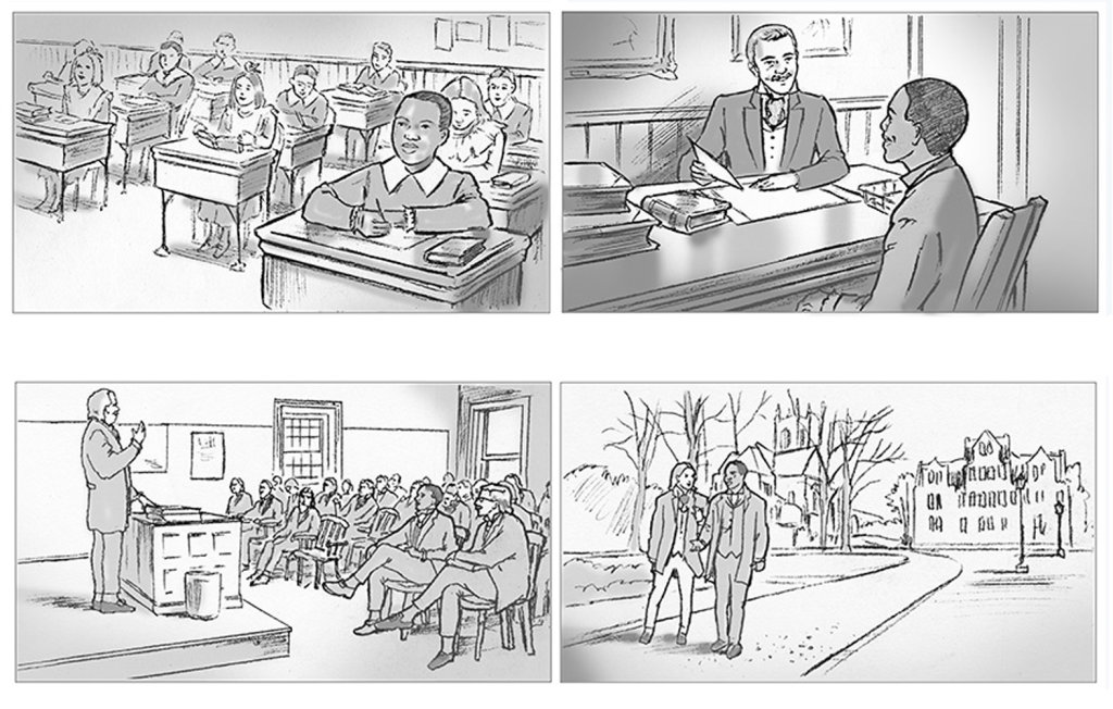 Sally Barton Storyboards From a series of storyboards for Gaius