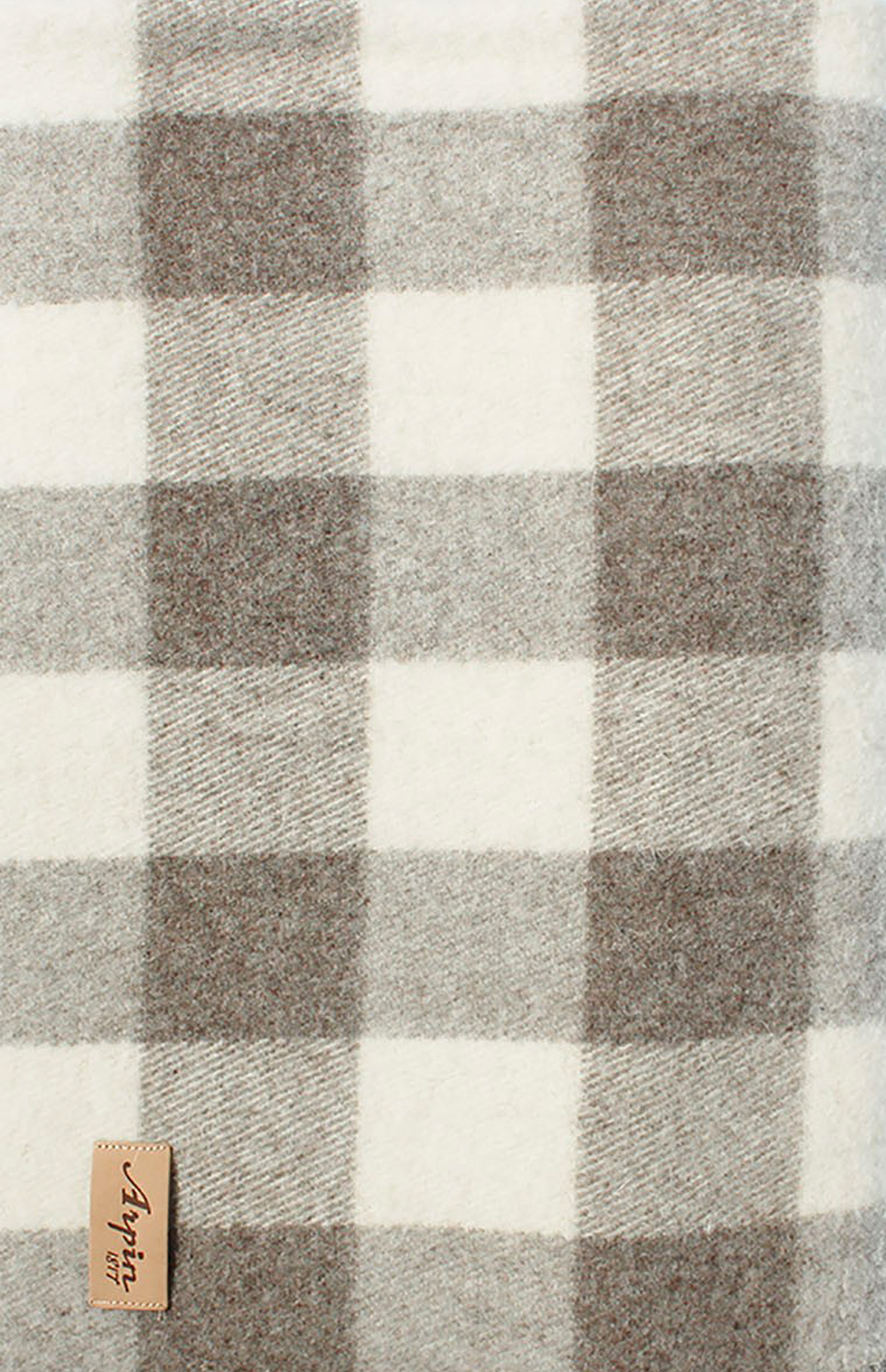 Plaid Taupe Checked Plaids