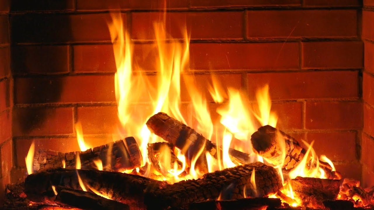 Animated Fireplace Wallpaper Fireplace Hd With Christmas Music Non Stop