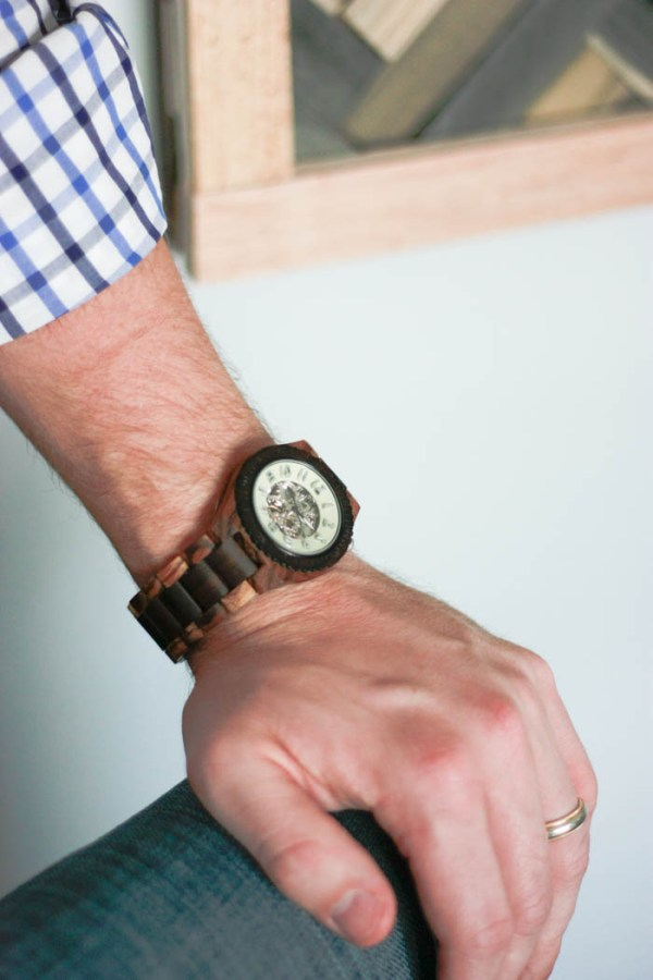 JORD Wood Watch - a very unique watch // Amber and Eric Oliver