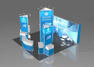 Custom-Built Exhibition Stand