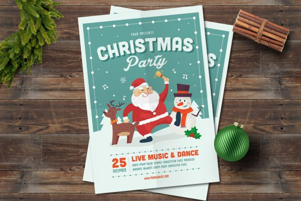 Christmas Holiday Cards and Invitations - Amberblue Media
