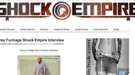 Corey Furmage Shock Empire Interview