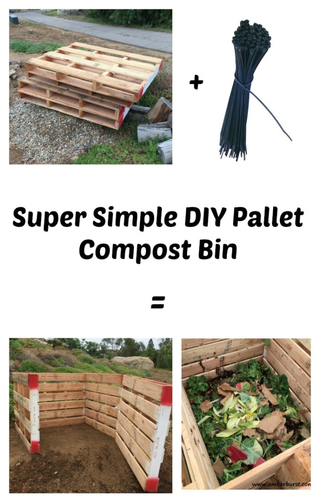 Pallet Compost pin