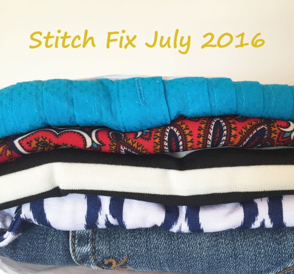 Stitch Fix July 2016 Review