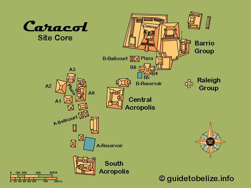 Maya Archaeological Sites of Belize, Belize History