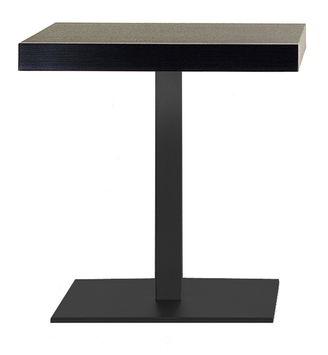 Dimension Tabouret De Bar Pied De Table Noir | Inox | Pedrali