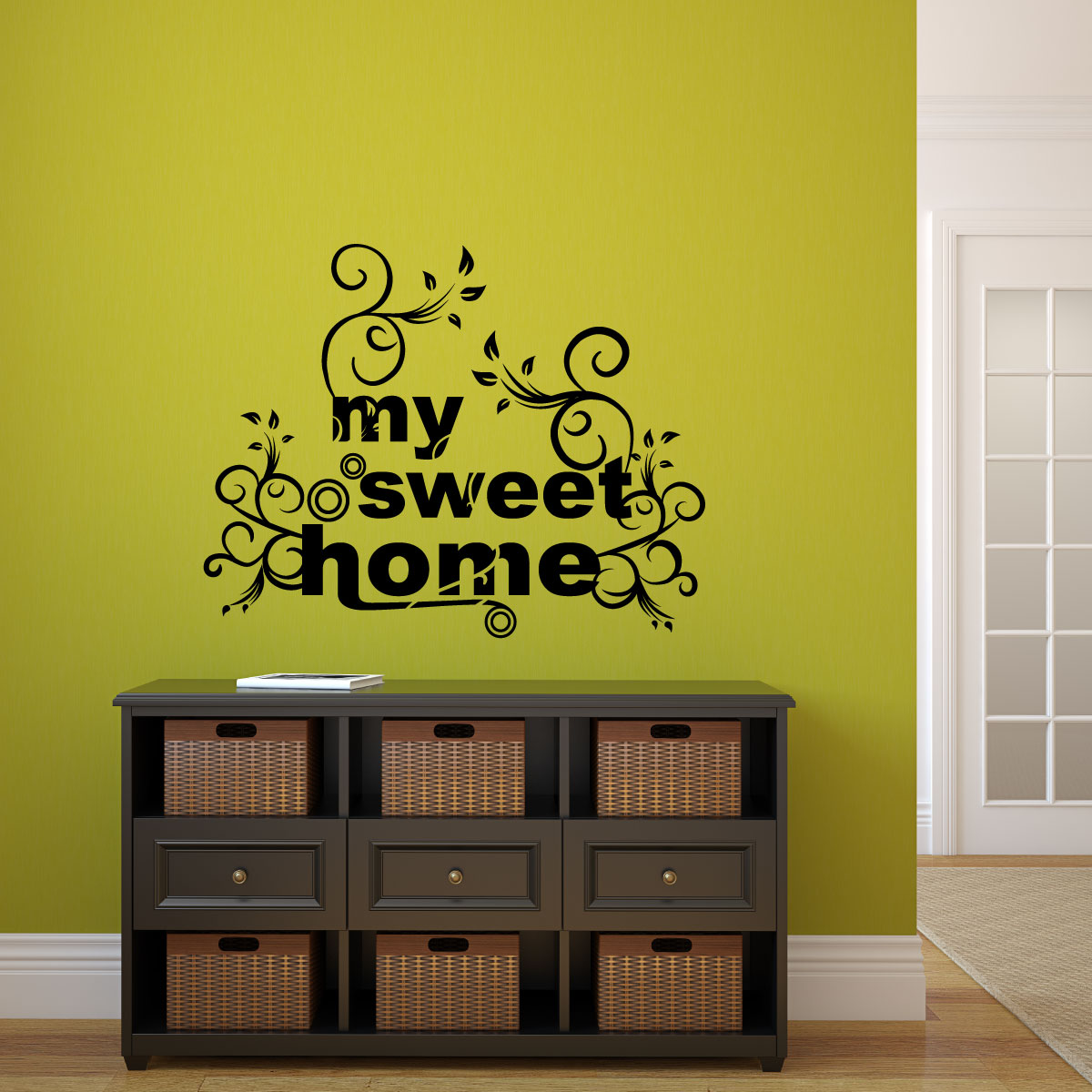My Sweet Home Stickers Muraux Citations Sticker My Sweet Home