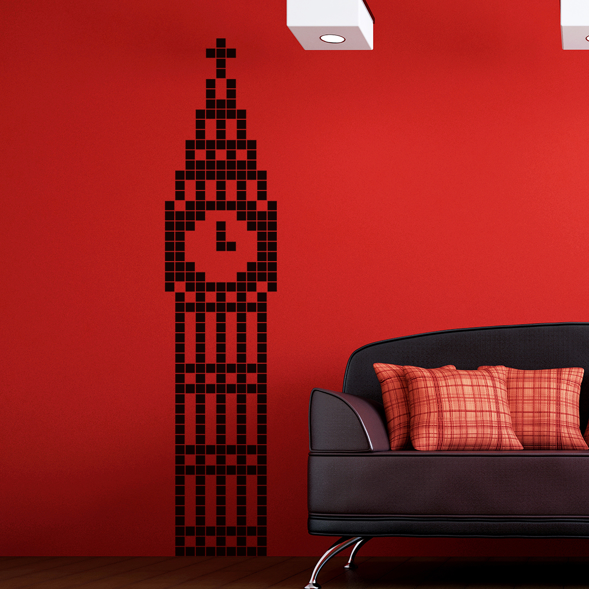 Tete De Lit 160 Design Sticker Big Ben En 2d – Stickers Stickers Villes Et