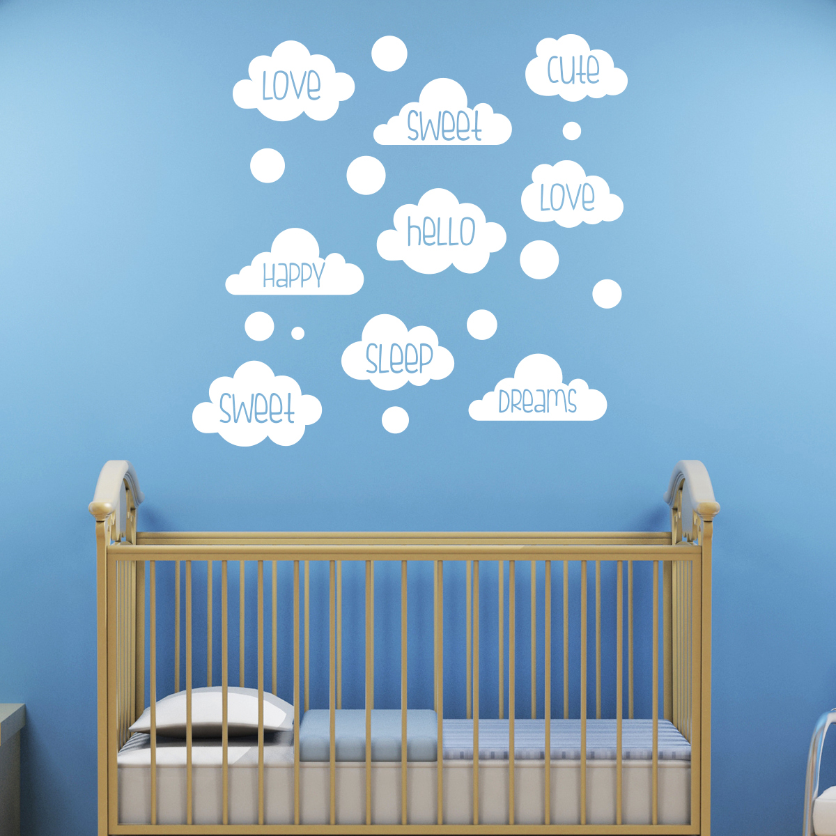 Stickers Chambre Enfants Sticker Chambre Enfant Love Sweet Dreams Stickers