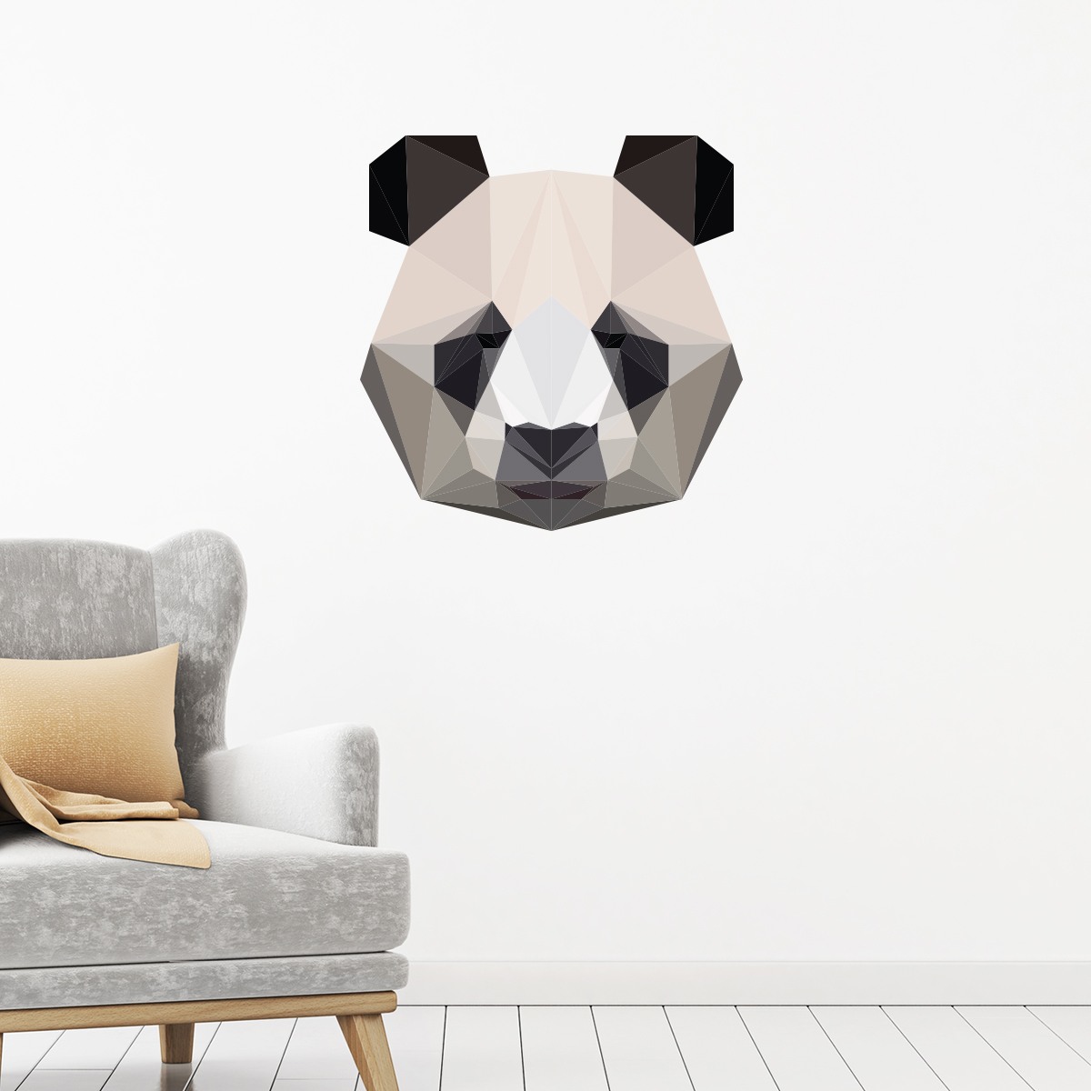 Stickers Chambre Ado Fille Sticker Origami Panda