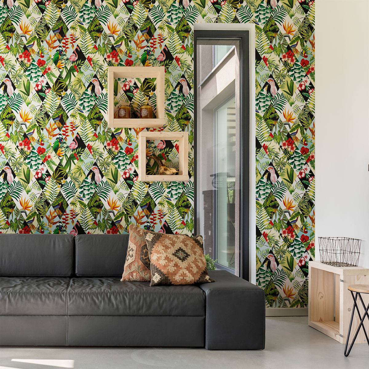 Pinterest Meubles Peints Sticker Papier Peint Tropical Jungle – Stickers Nature