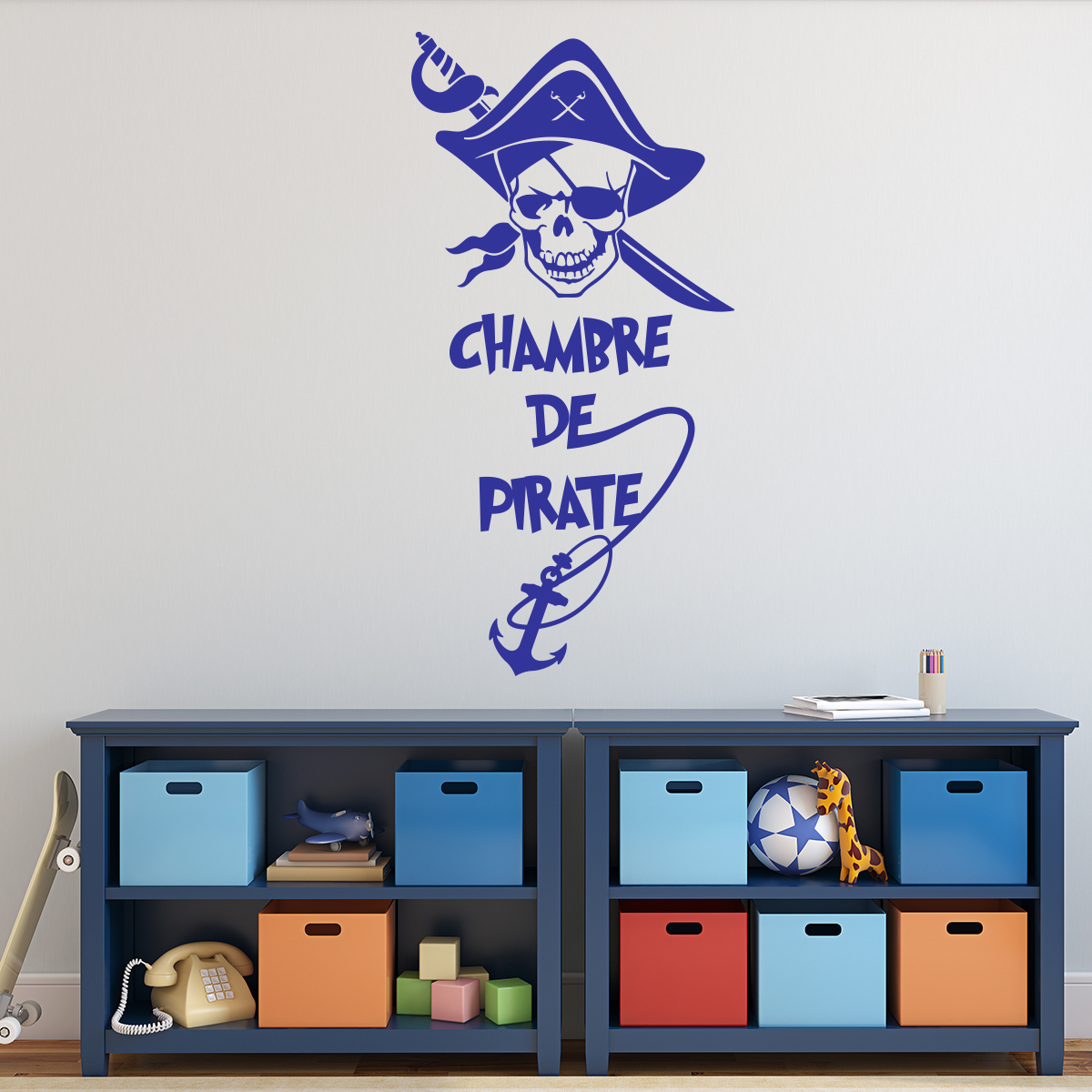 Stickers Chambre Enfants Sticker Pirate Chambre D 39enfant Stickers Citations