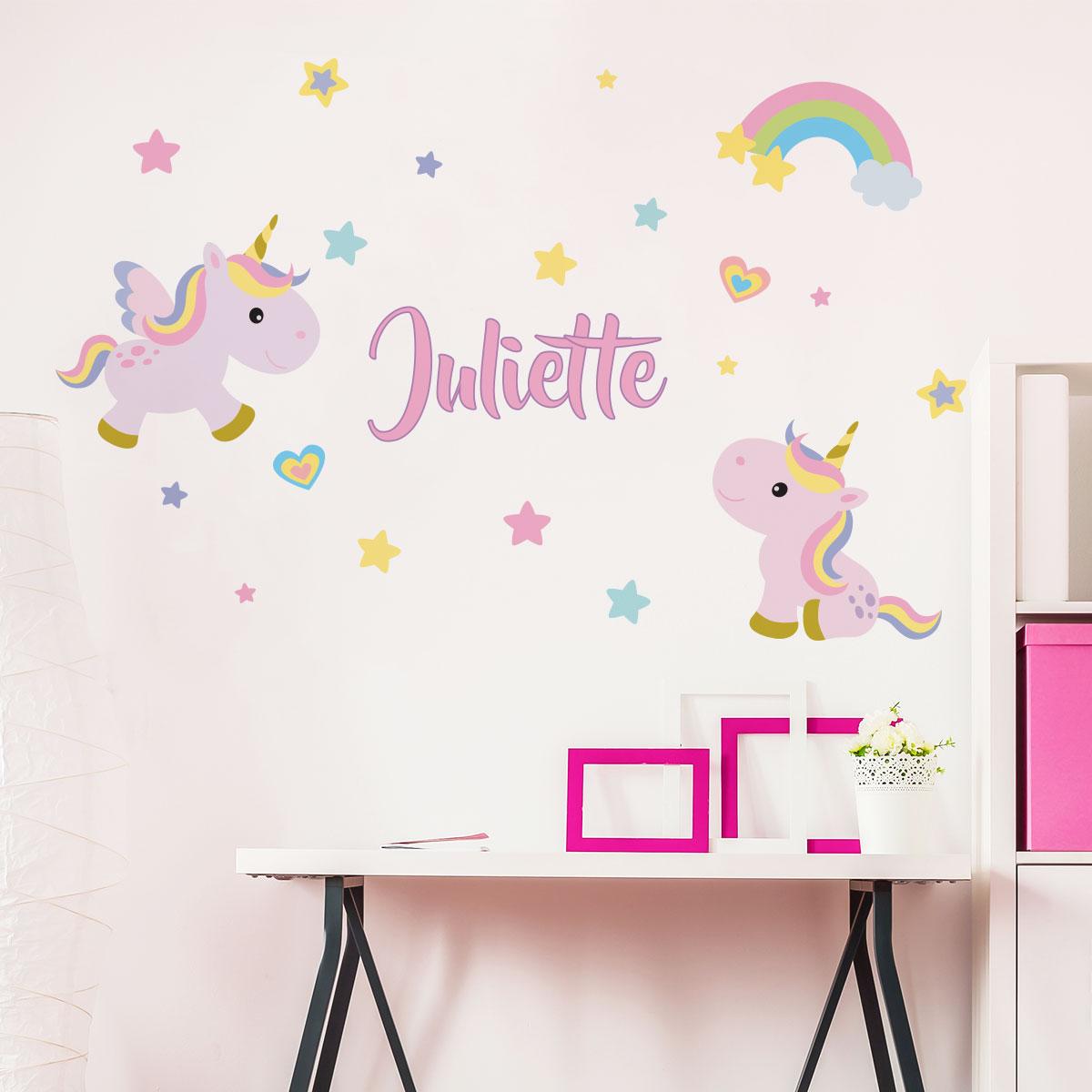 Stickers Chambre Bébé Etoile