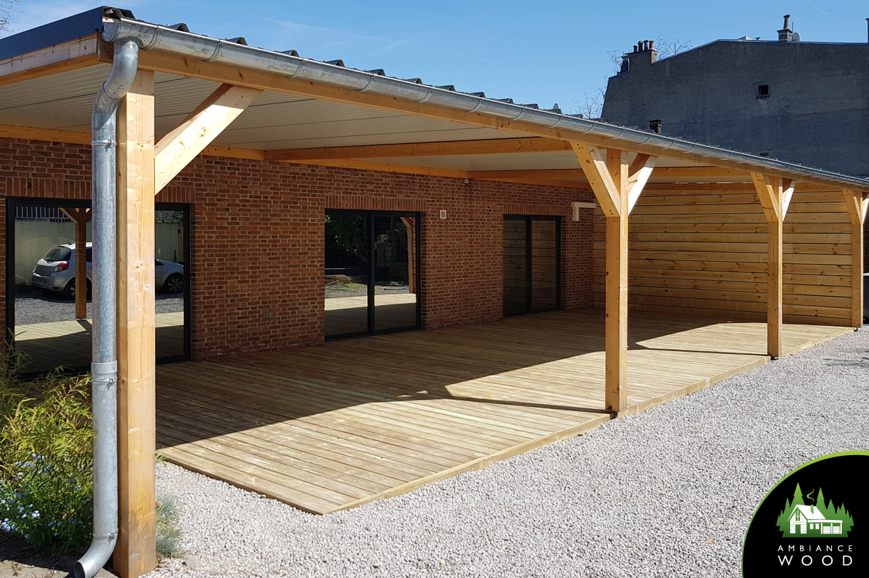 Terrasse Pin Autoclave Terrasse En Pin 70m² Ambiance Wood