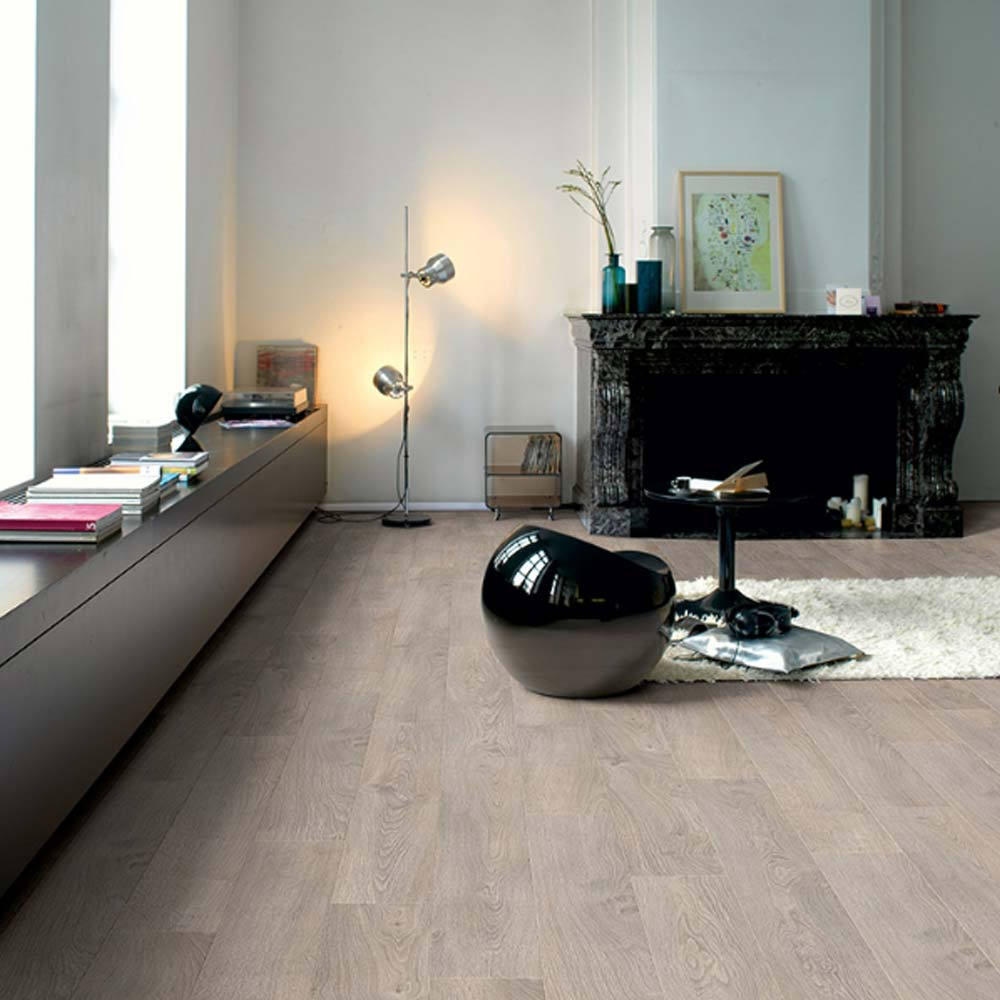 Quick Step Classic Quick Step Classic Old Oak Light Grey Planks Clm1405 Laminate Flooring