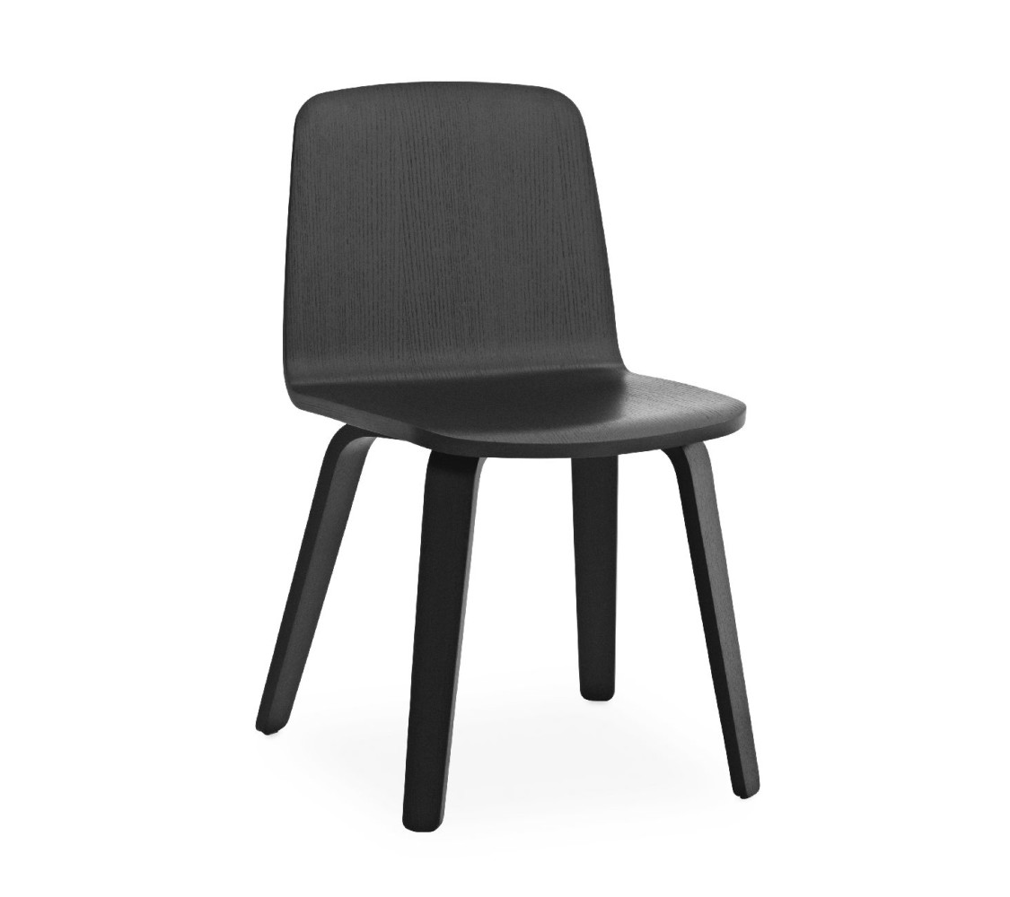 Sessel In Stuhlhöhe Normann Copenhagen Just Chair Oak Stuhl Black Black