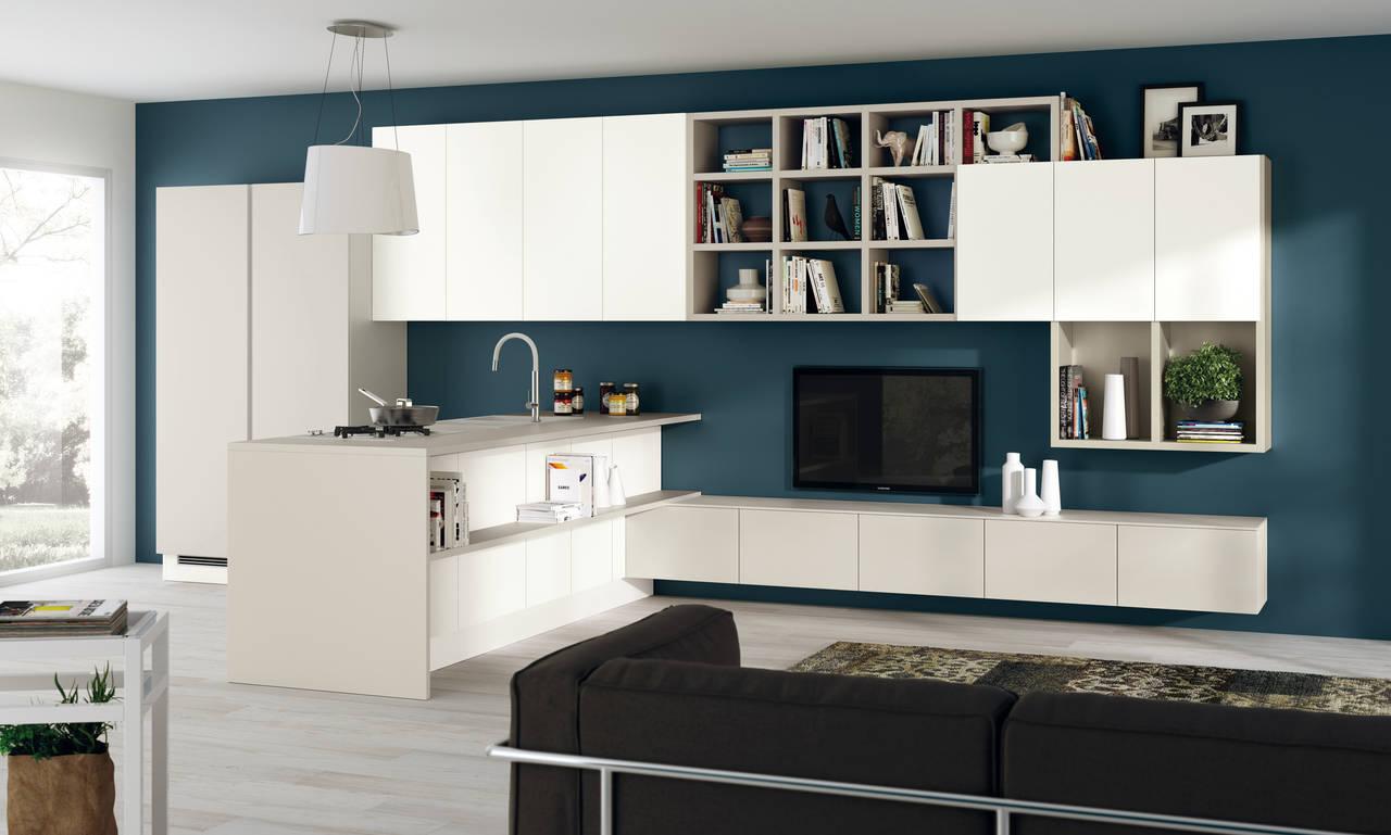 Scavolini Cucina E Living | Cucine E Living Insieme Cucina E ...