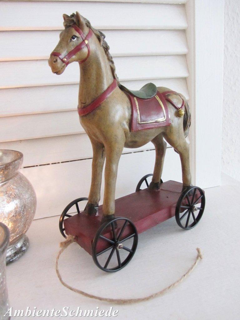 Deko Pferd Shabby | Deko Pferd Holz Deko Pferd Holz Stehend ...