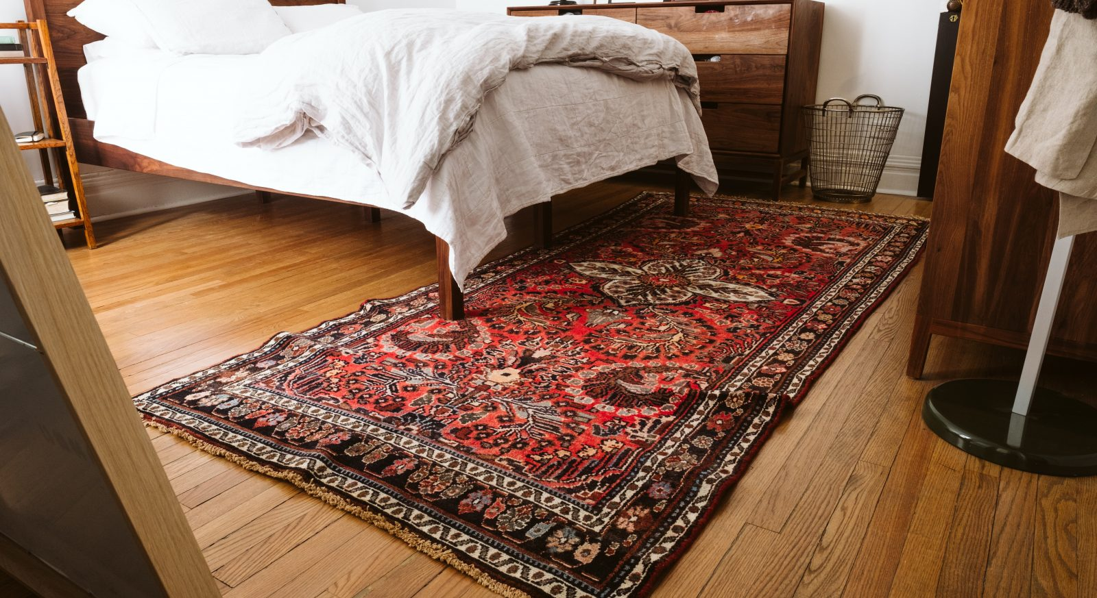 Rug Sizing How To Choose The Right Rug Size For Your Bedroom Ambitious Home