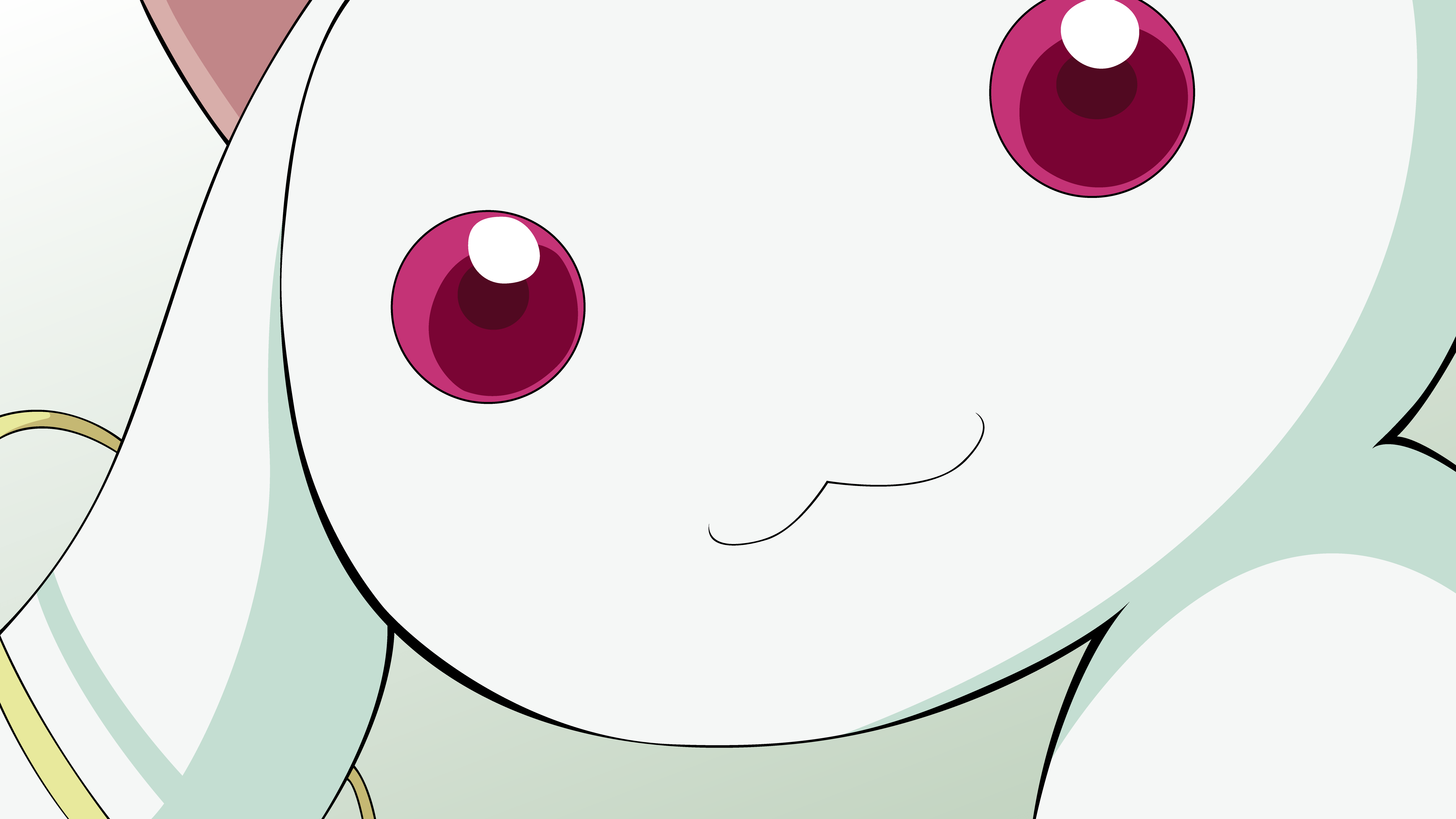 Lewd Anime Girls Wallpaper He She It Stares Into Your Soul A Post On Kyubey And