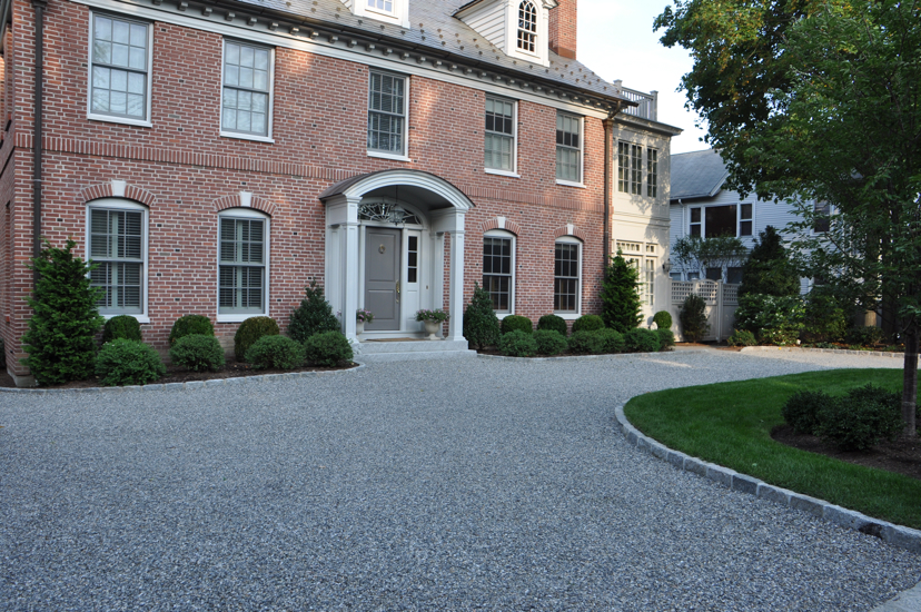 Creative Outdoor Lighting Solutions Driveway Installation Redding Ct | Ambrosio Landscape