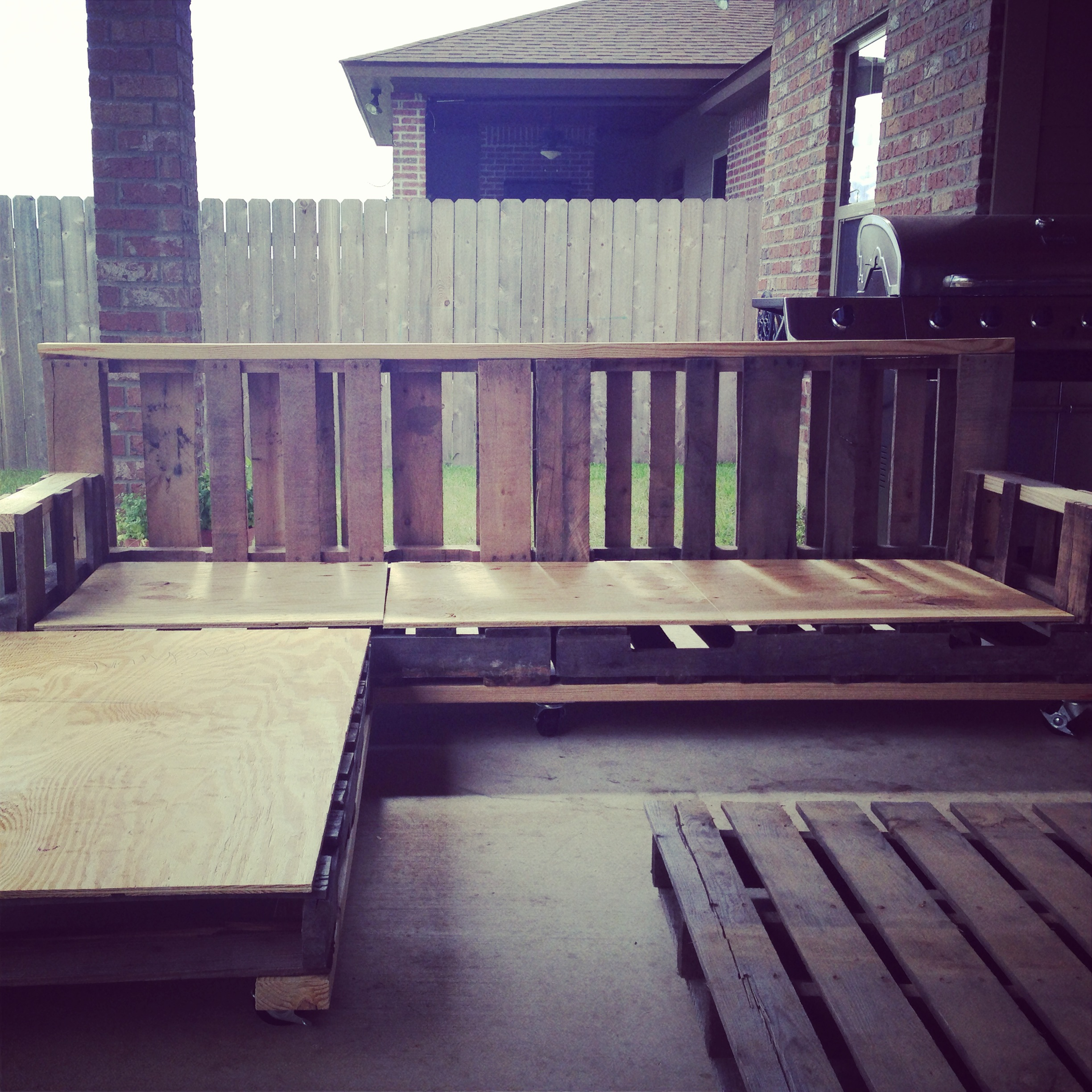 Pallet Sectional Couch