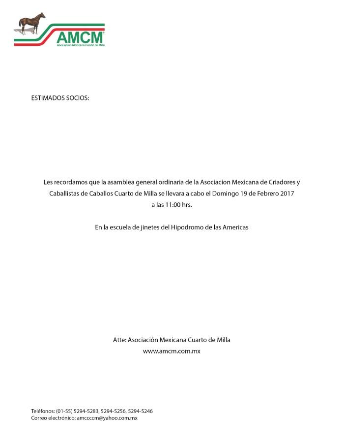 MEMBRETE RECORDATORIO