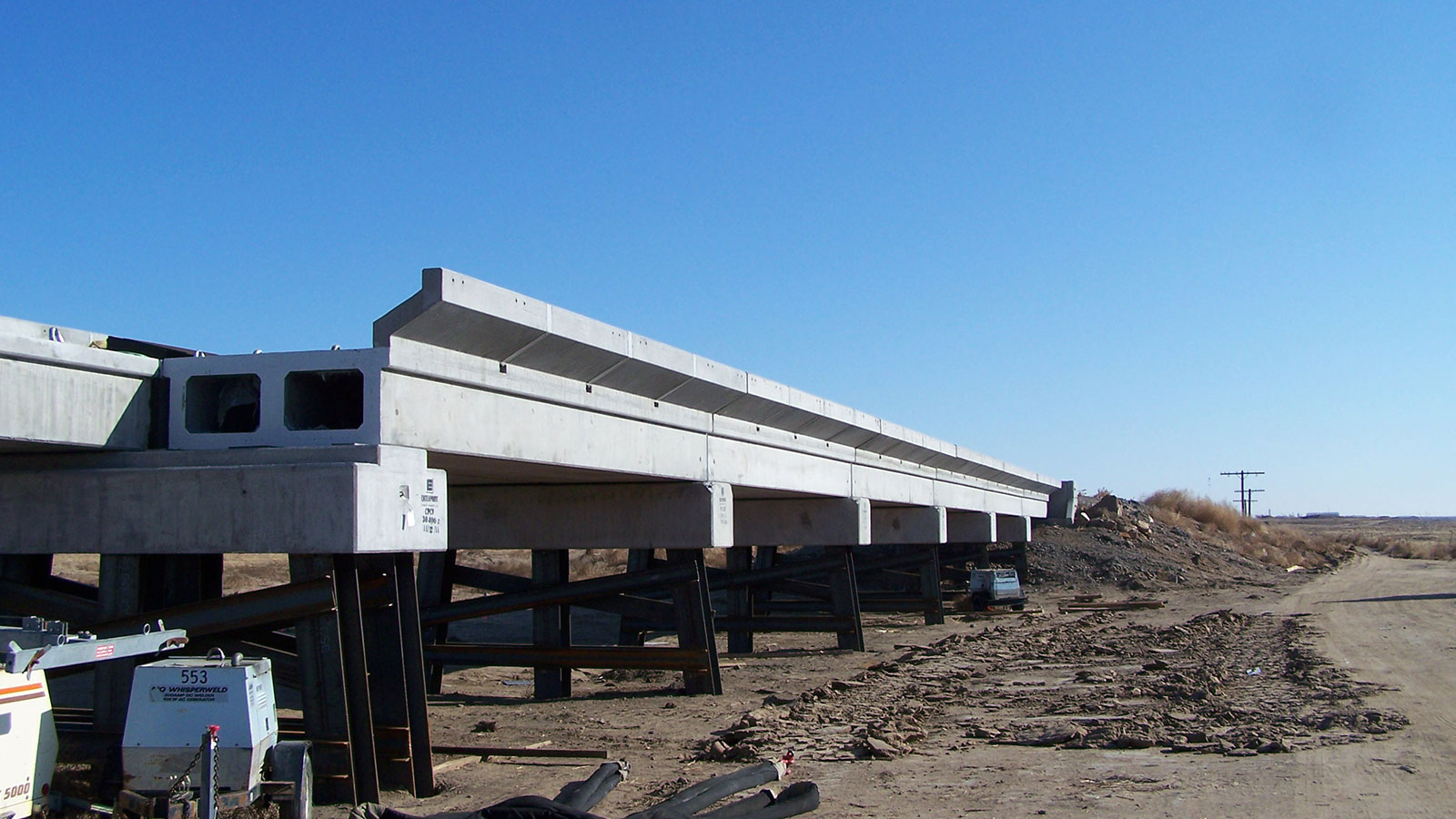 Precast Bridges Cimarron Valley Railroad Bridges Kansas Structural Prestressed