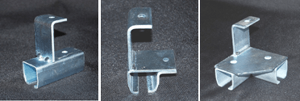 Industrial Curtain Rod Systems Rod Connectors Brackets