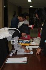 Registrasi technical meeting Pemilihan Abang & Mpok Depok 2012