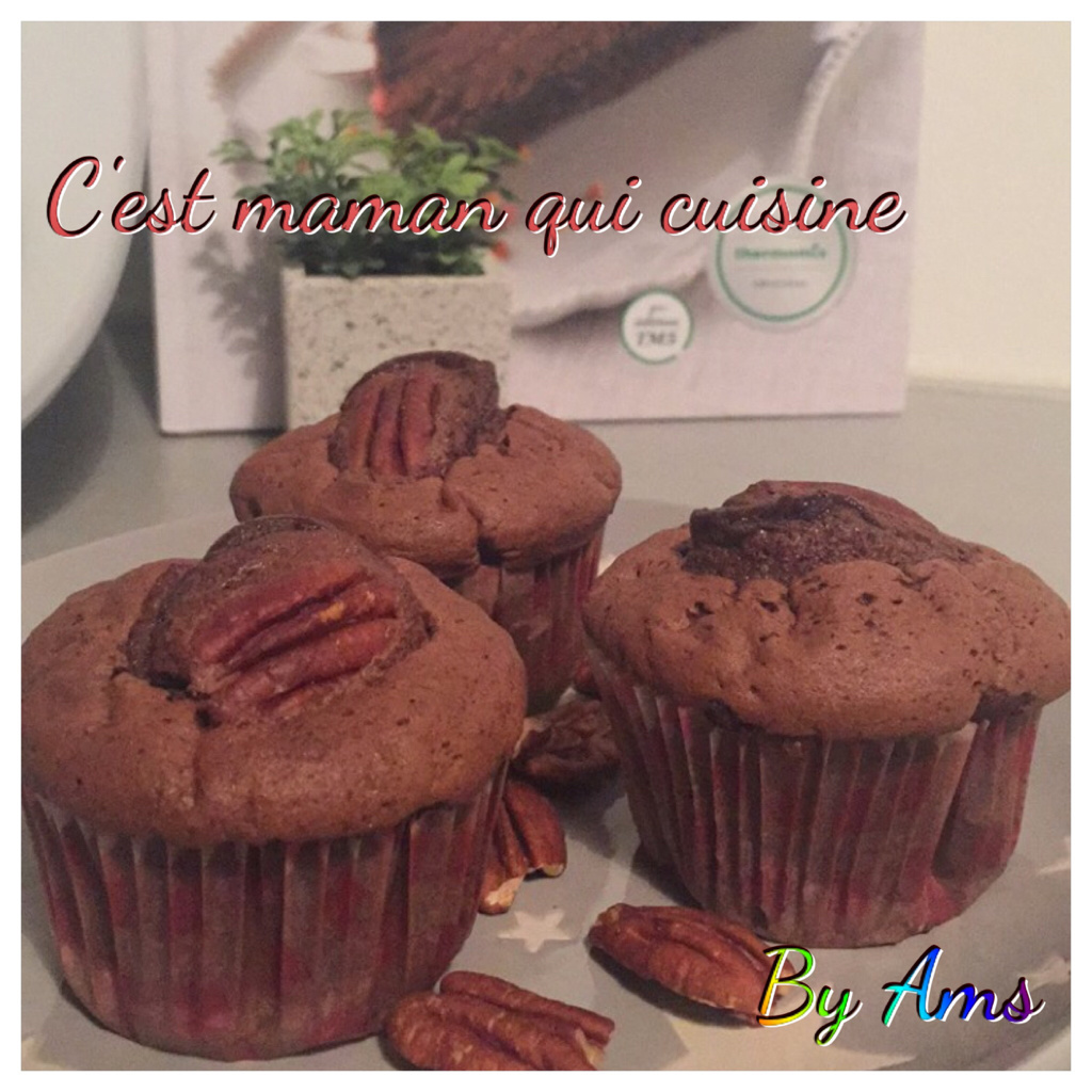 Muffins Kinder Country Muffins Chocolat Noix De Pécan Thermomix Amel Délices