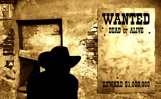 Wanted Dead or Alive Poster
