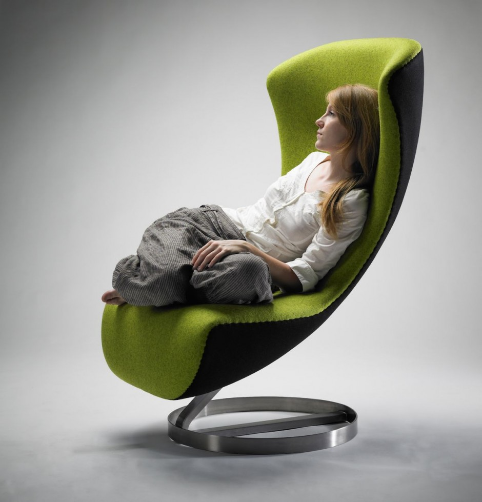 Sessel Lounge Fauteuil De Salon Design Nico Klaber