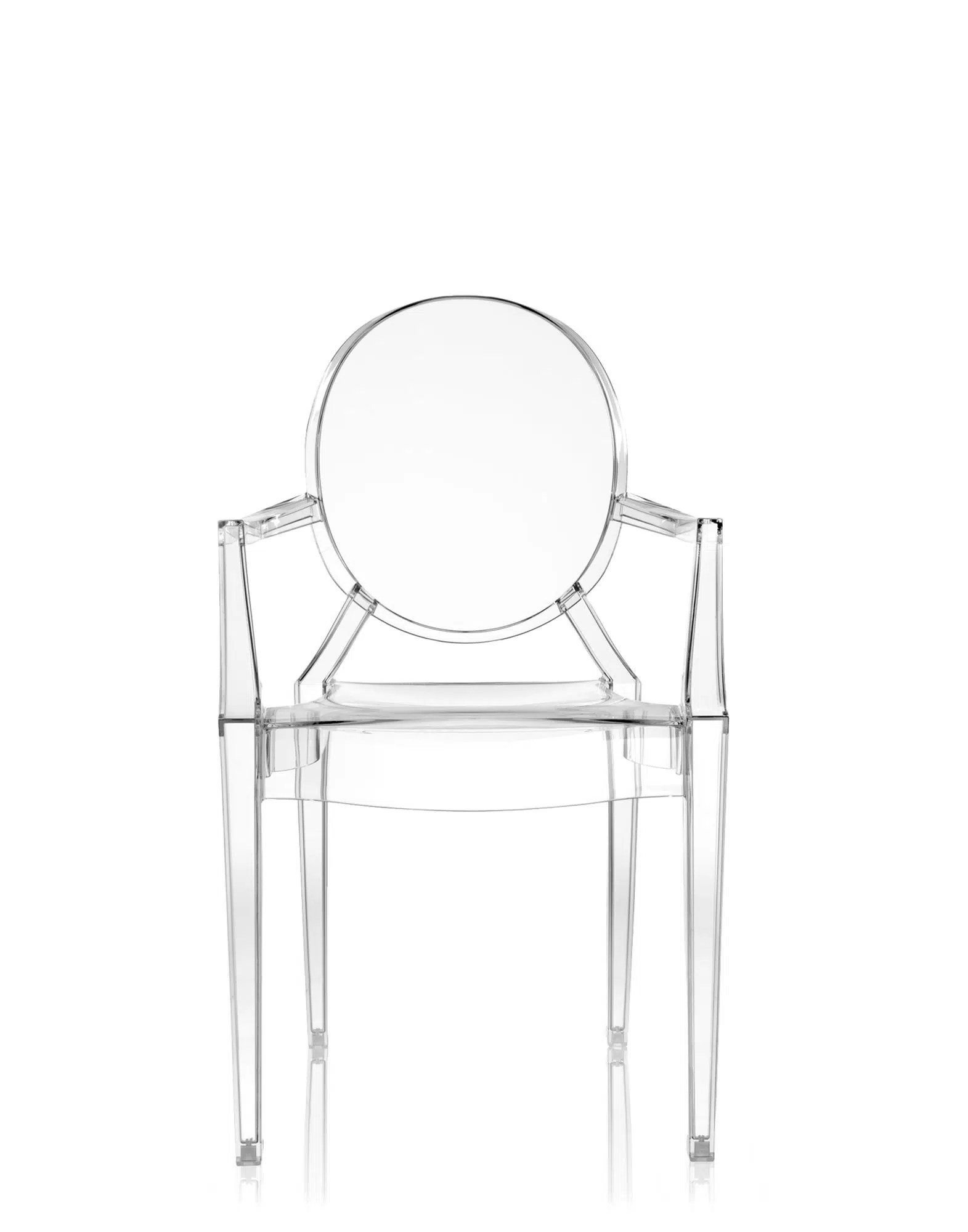 Silla Louis Ghost Chaise Kartell Louis Ghost Philippe Starck