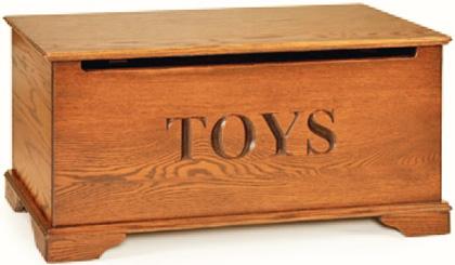 Fine Hardwood Toy Boxes