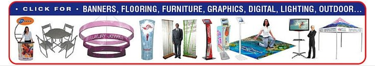trade show supplies and expo booth displays
