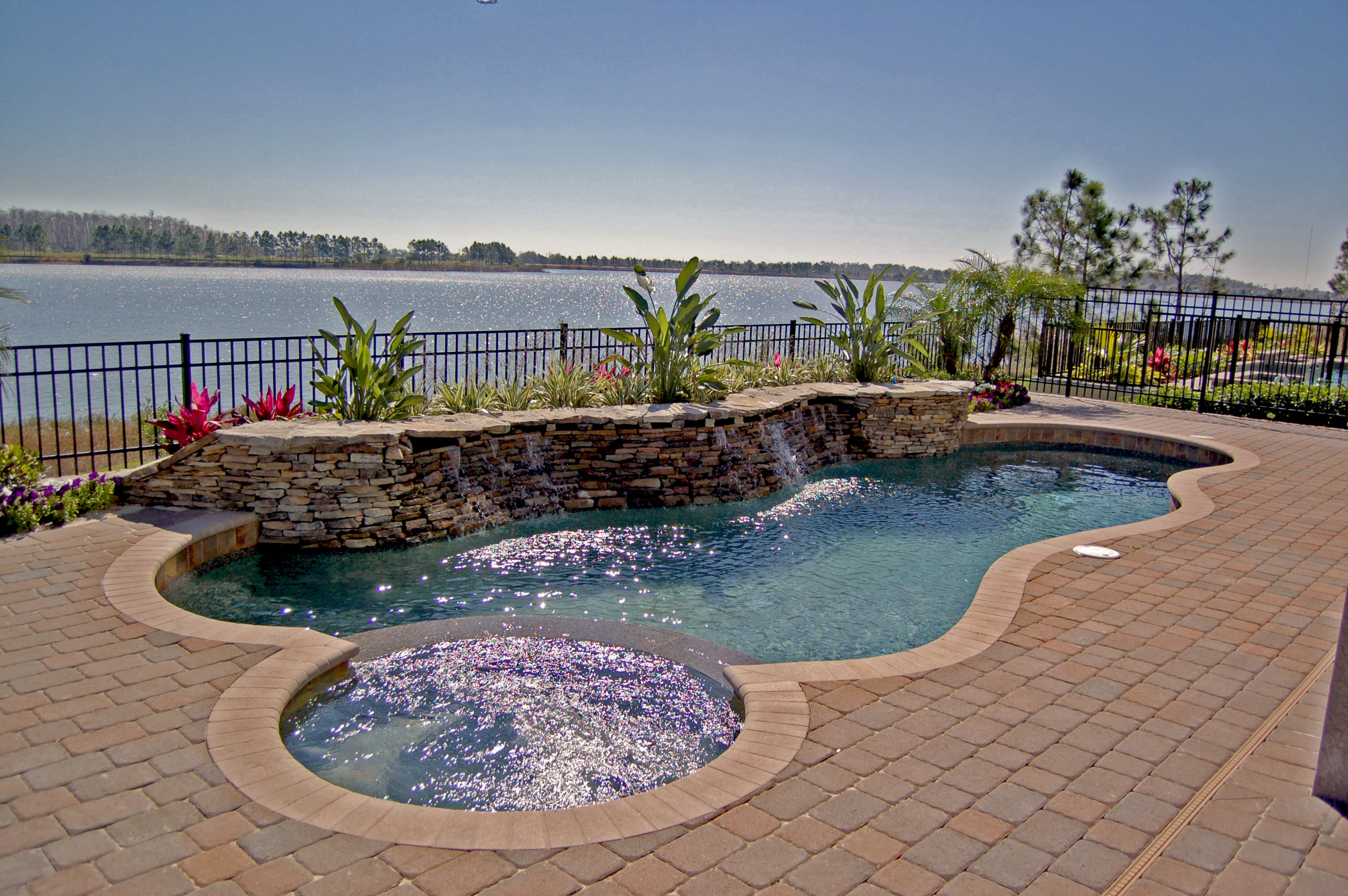 Jacuzzi Pool Installation See How Easily You Can Add A Spa To Your Existing Pool