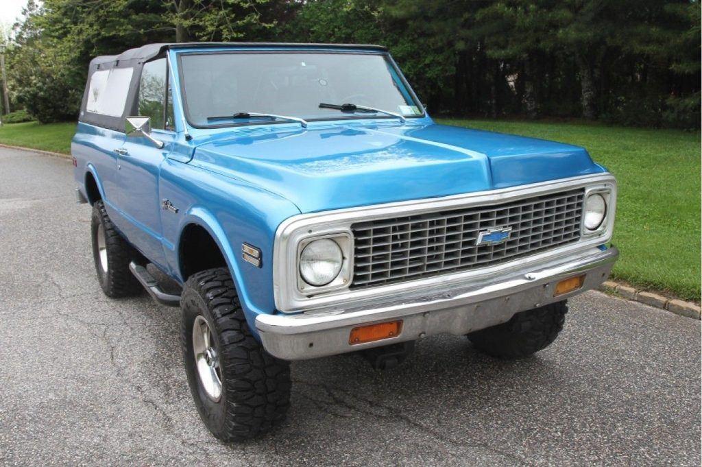 1972 Chevrolet Blazer K5 Soft Top Convertible For Sale