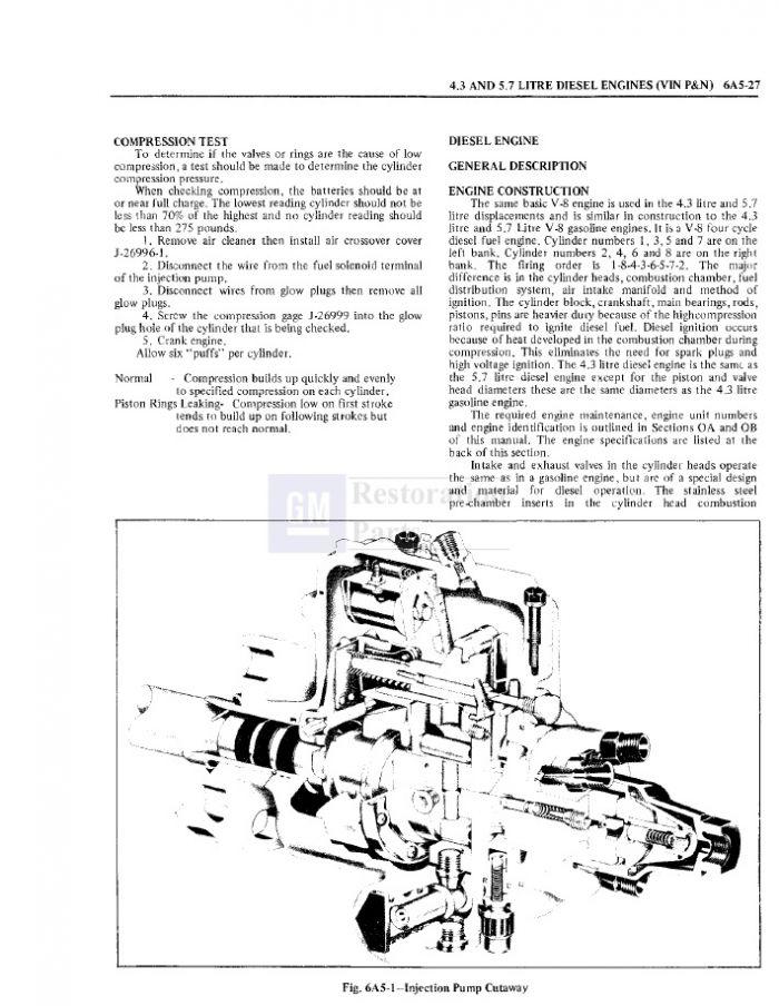 oldsmobile 3 5 Schema moteur