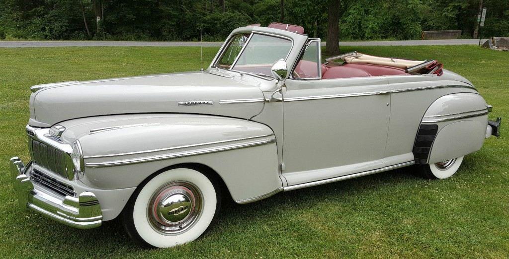 1951 mercury convertible for sale