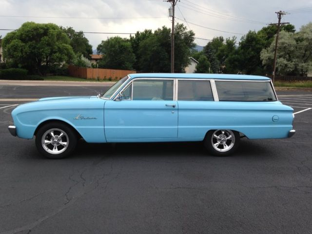 1961 Ford Falcon 2 Door Wagon