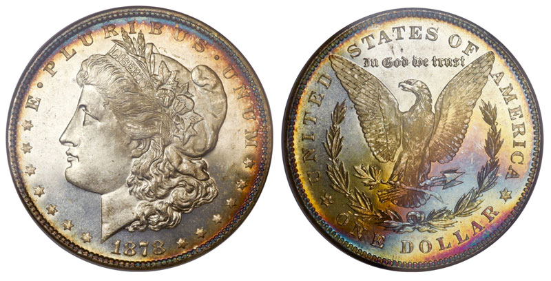 1878 Morgan Dollars For Sale Value - American Coins Auction