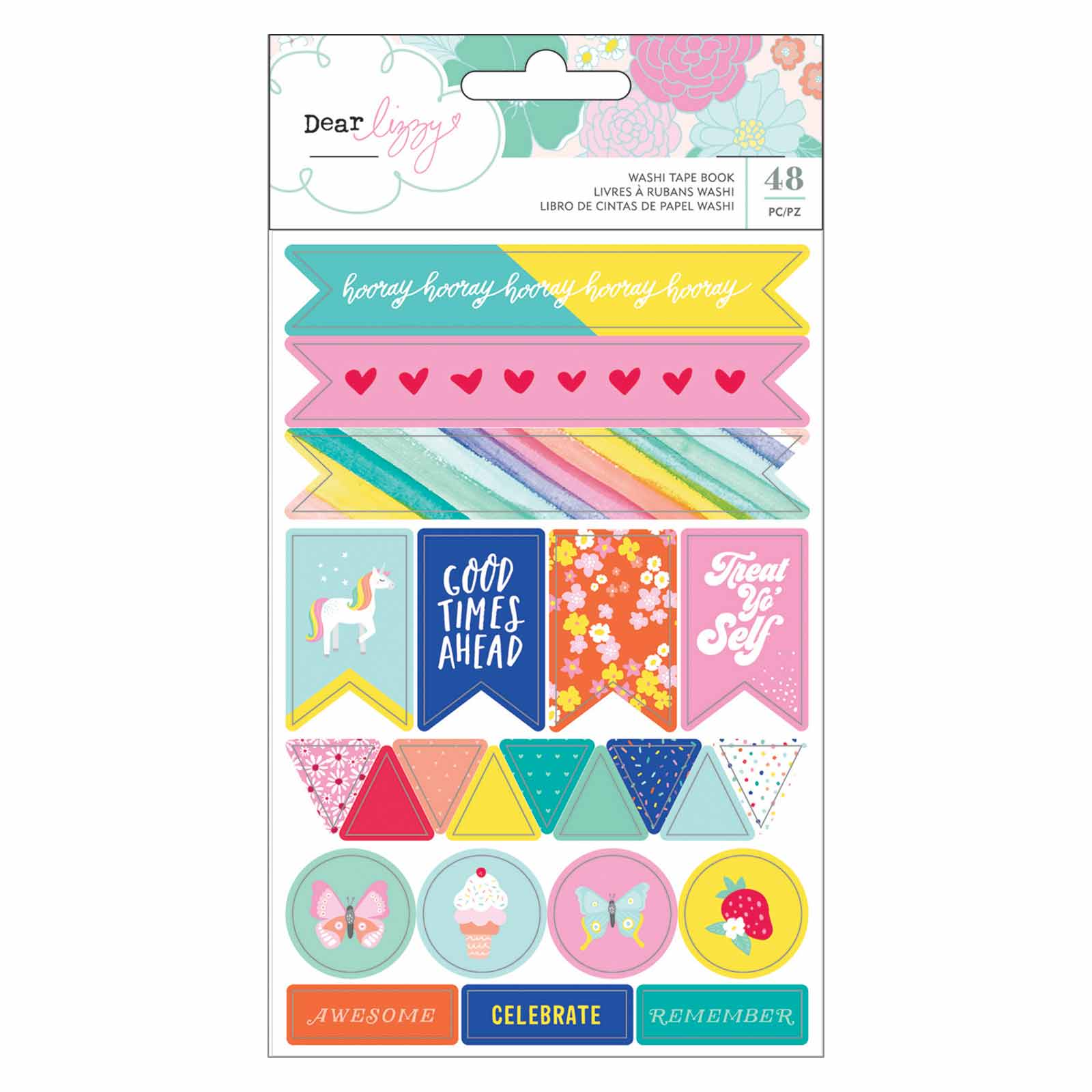 Remember Libro Washi Book Stay Colorful