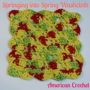 Springing into Spring Washcloth