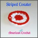 Striped Coaster